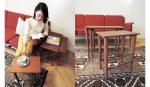 〈Yoko Press _インテリアライターのお仕事〉Precious.jp掲載 ACTUSのオリジナルブランド「H.W.F 」のネストテーブル