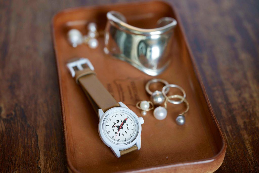 親子リンクコーデ腕時計