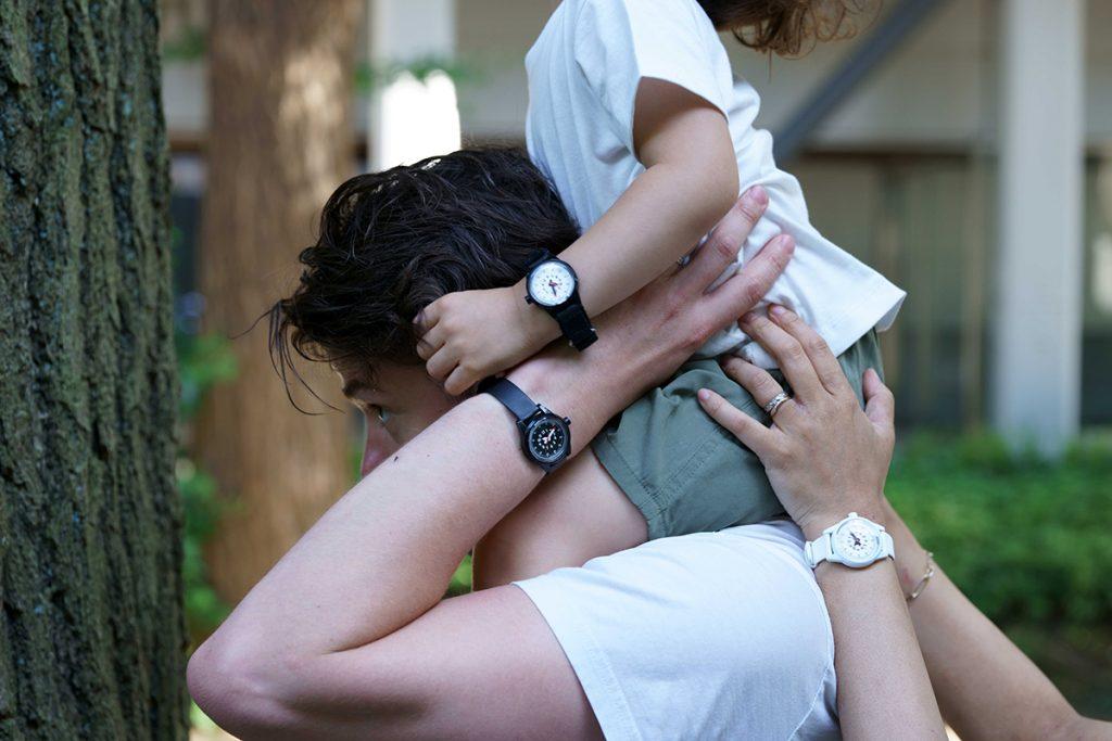 親子で腕時計