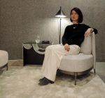"〈Yoko Press _インテリアライターのお仕事〉Precious.jp連載 ""腰痛持ち""でも美しくリラックスできる !ミノッティの「テープ」"