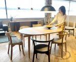 〈Yoko Press _インテリアライターのお仕事〉Precious.jp連載 さりげなく私をエスコートしてくれる伸長式テーブル!カンディハウスの「マム ダイニング」の魅力とは?